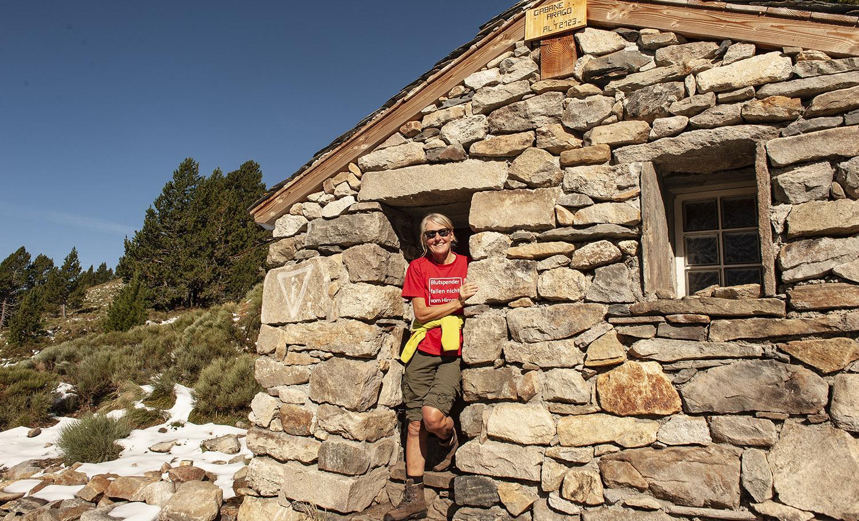 Canigo: die Schutzhütte Arago. Foto: Hike Maunder