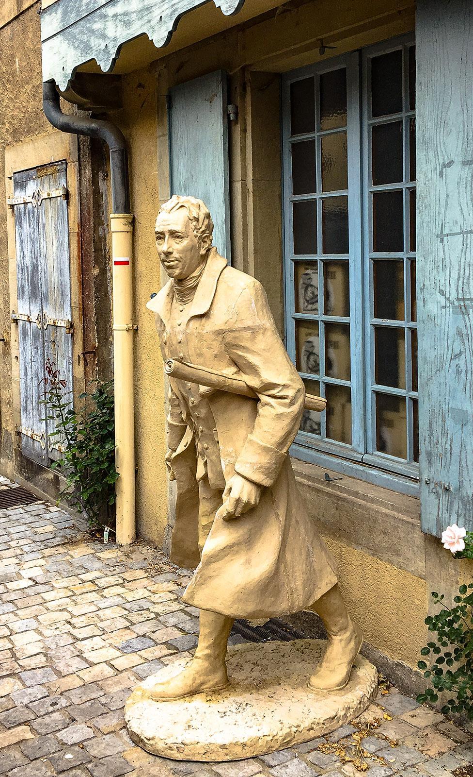 Chalabre: Shop im Herzen der alten Bastide. Foto: Hilke Maunder