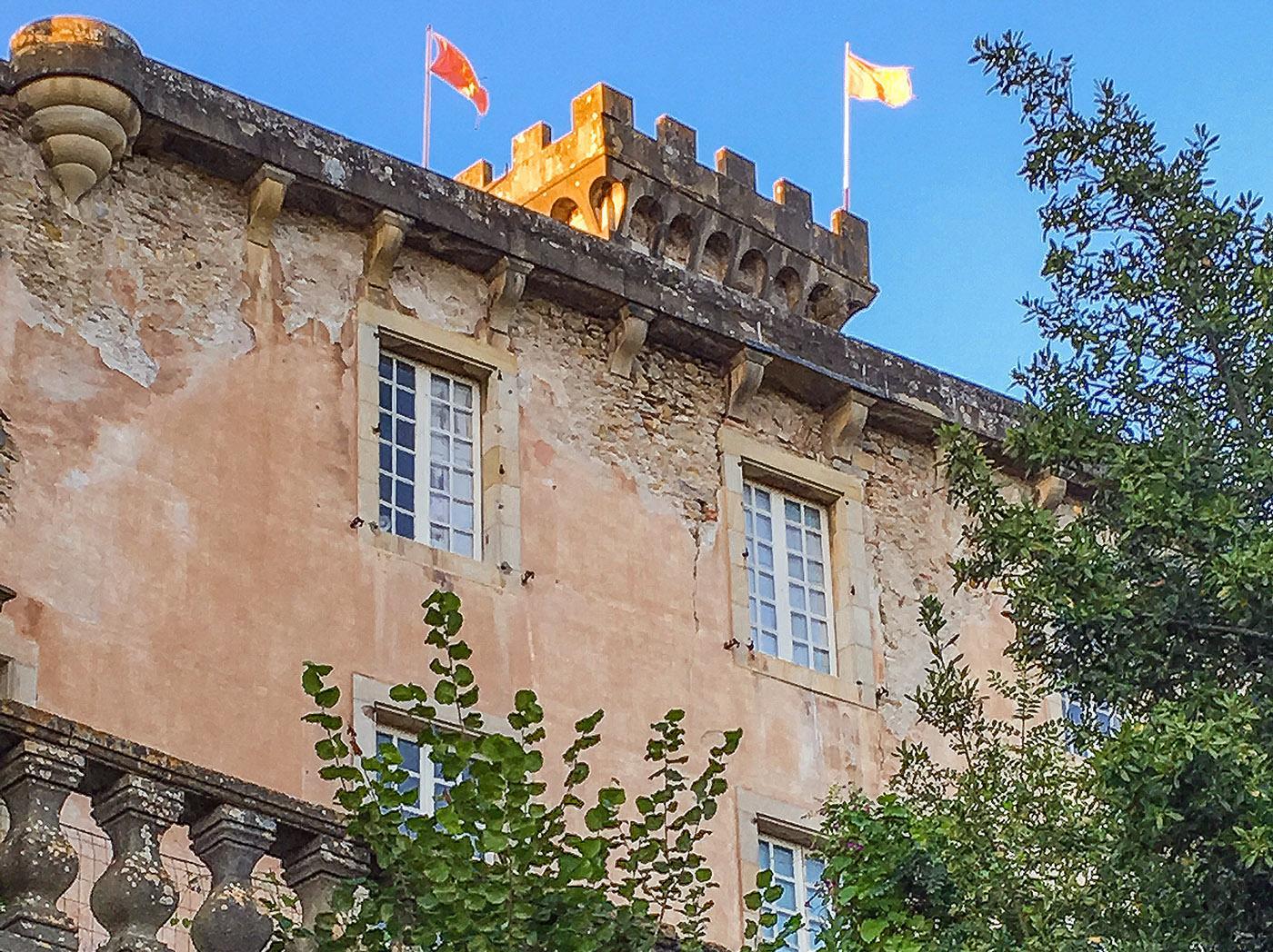 Château de Chalabre. Foto: Hilke Maunder