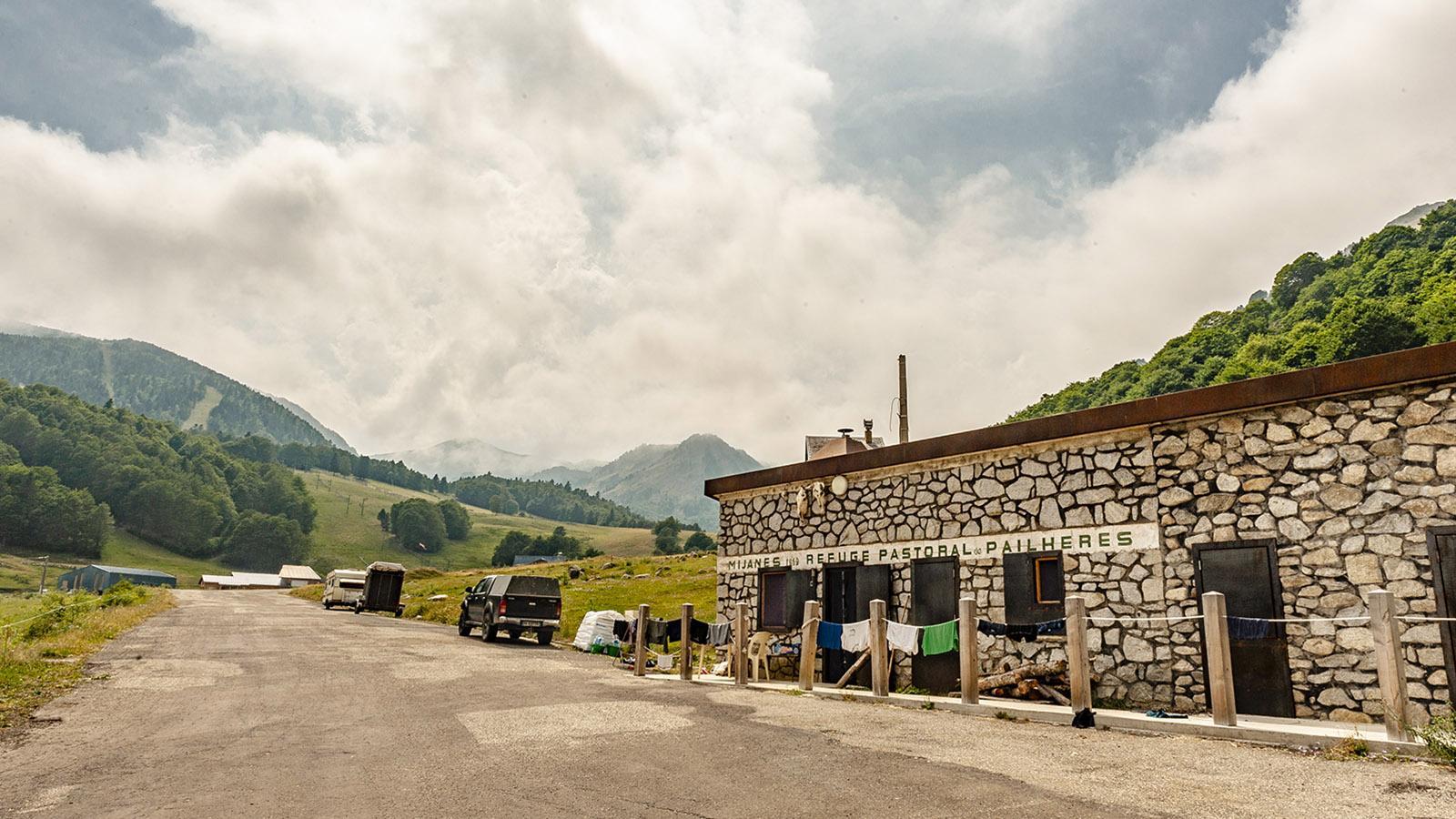 Col de Pailheres: Die Schutzhütte von Mijanès. Foto: Hilke Maunder
