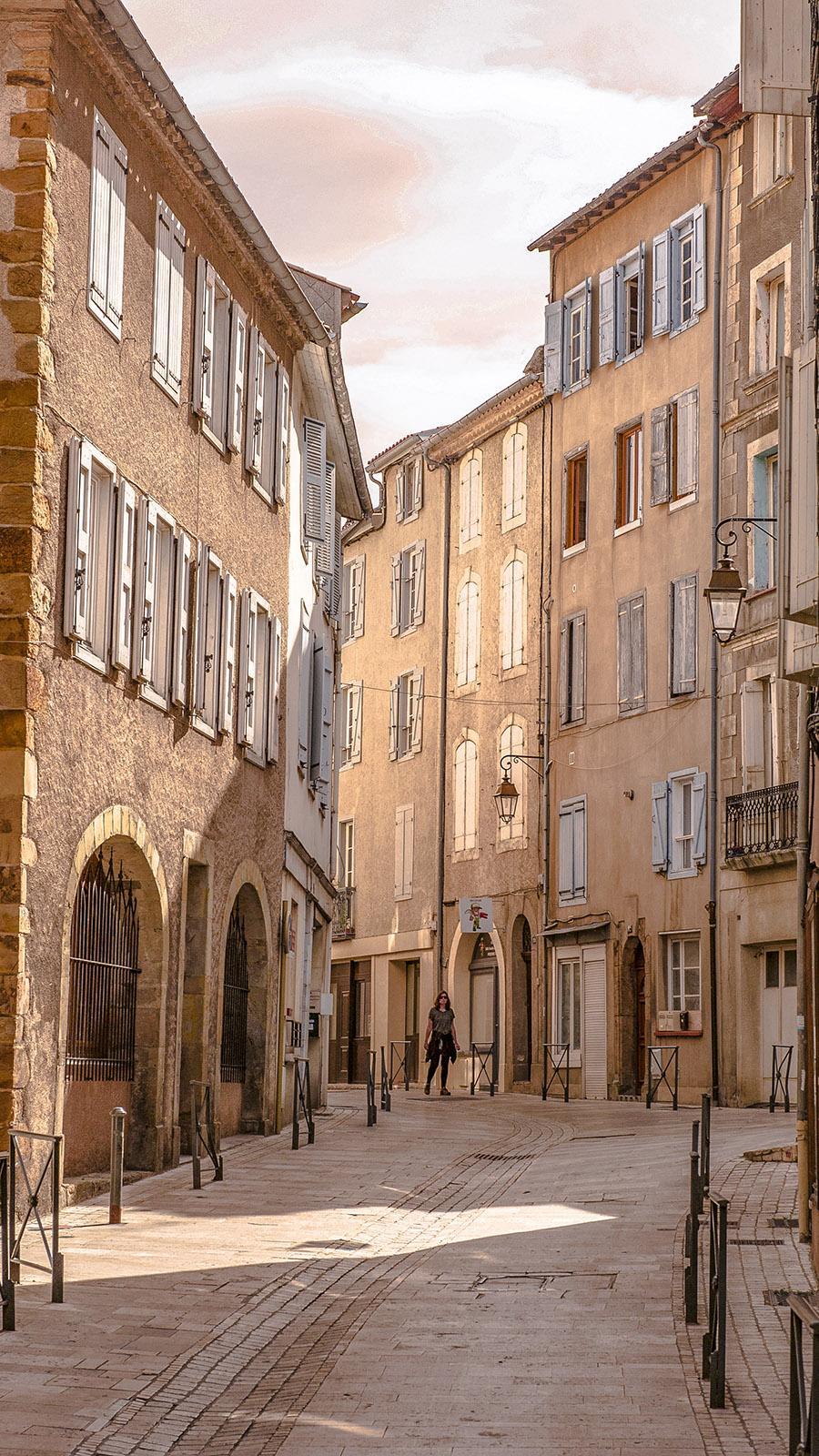 In der Altstadt von Foix. Foto: Hilke Maunder