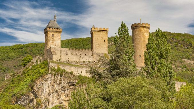 Foix: das Grafenschloss. Foto: Hilke Maunder