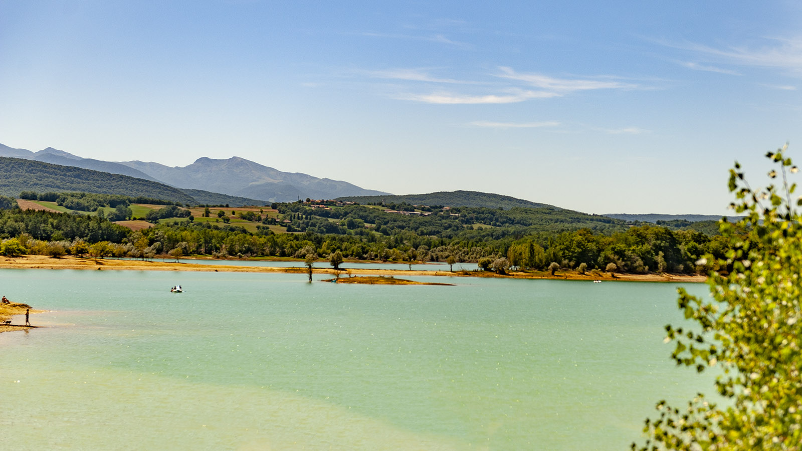 Bei Chalabre: der Lac de Montbel