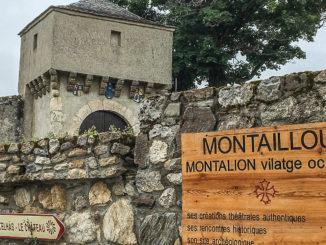 Montaillou, Dorfeingang. Foto: Hilke Maunder
