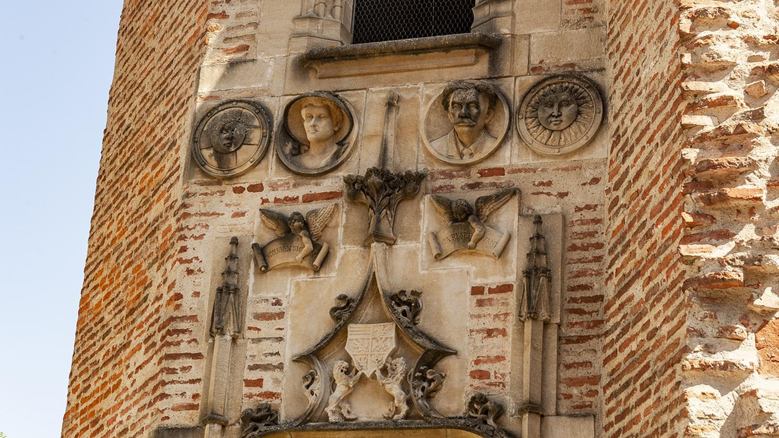 Pamiers: Tour de Nerviaux, Details. Foto: Hilke Maunder