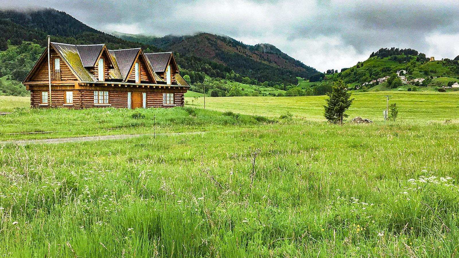Montaillou: die Landschaft ringsum. Foto: Hilke Maunder