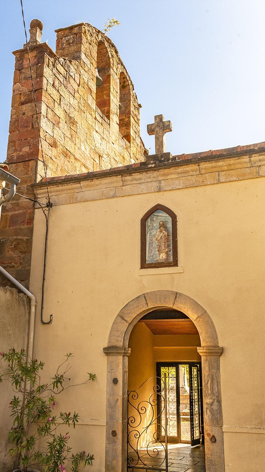 Rennes-les-Thermes: die Kirche