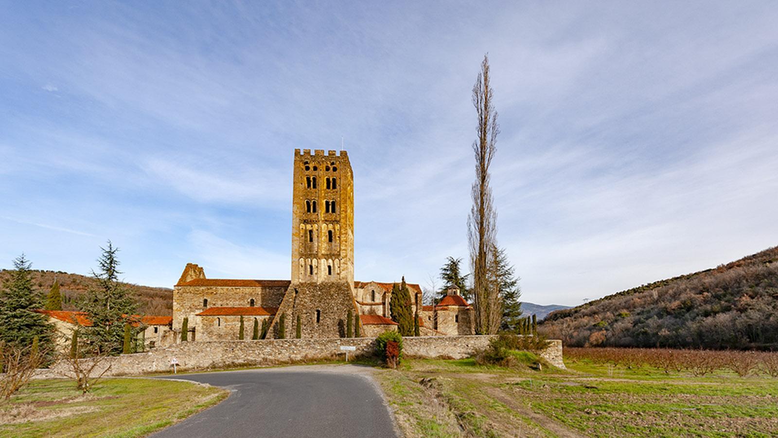 Canigo: die Abtei von St-Michel-de-Cuxa. Foto: Hilke Maunder