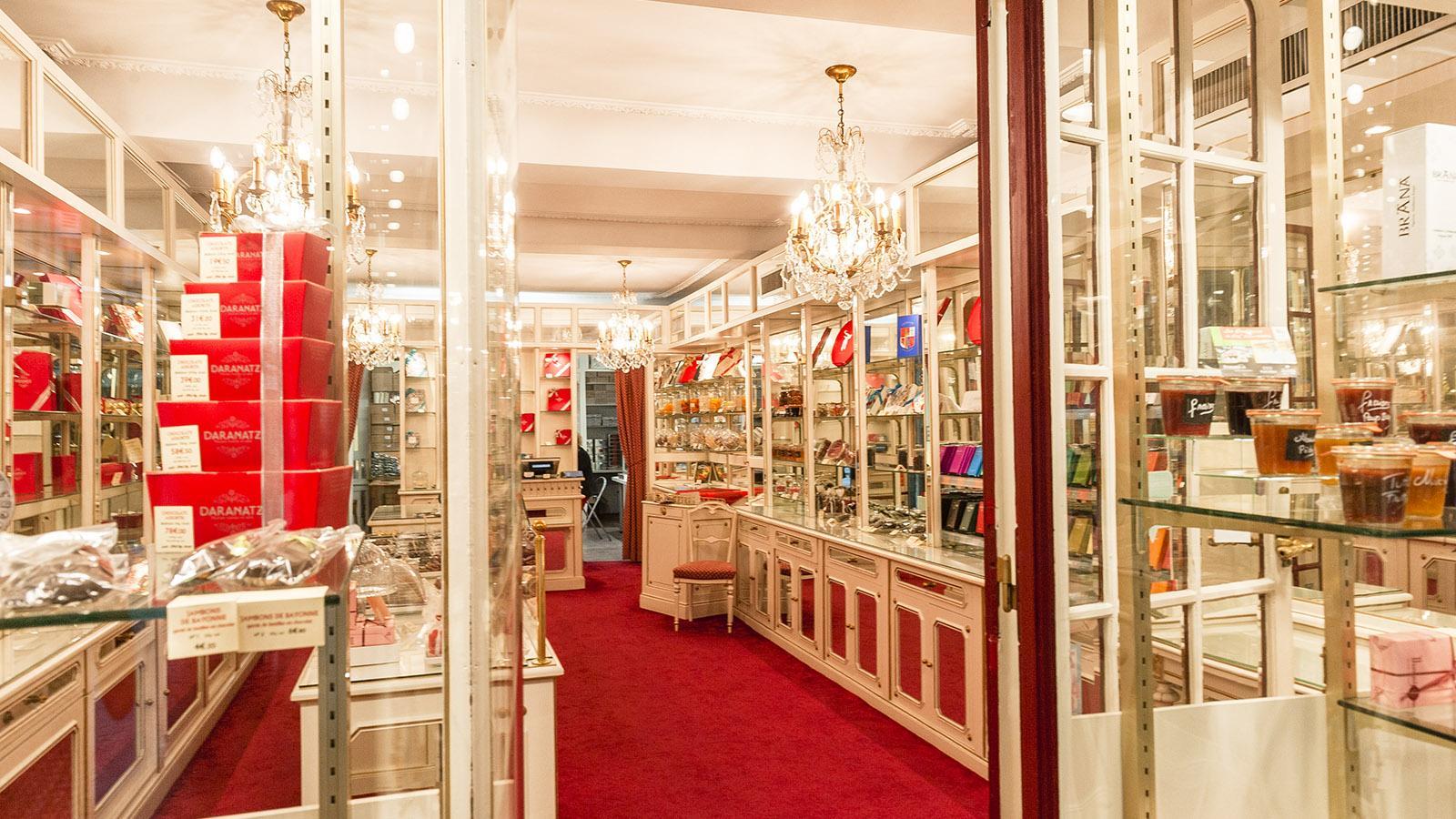 Bayonne: Edel - die Boutique von Daranat. Foto: Hilke Maunder