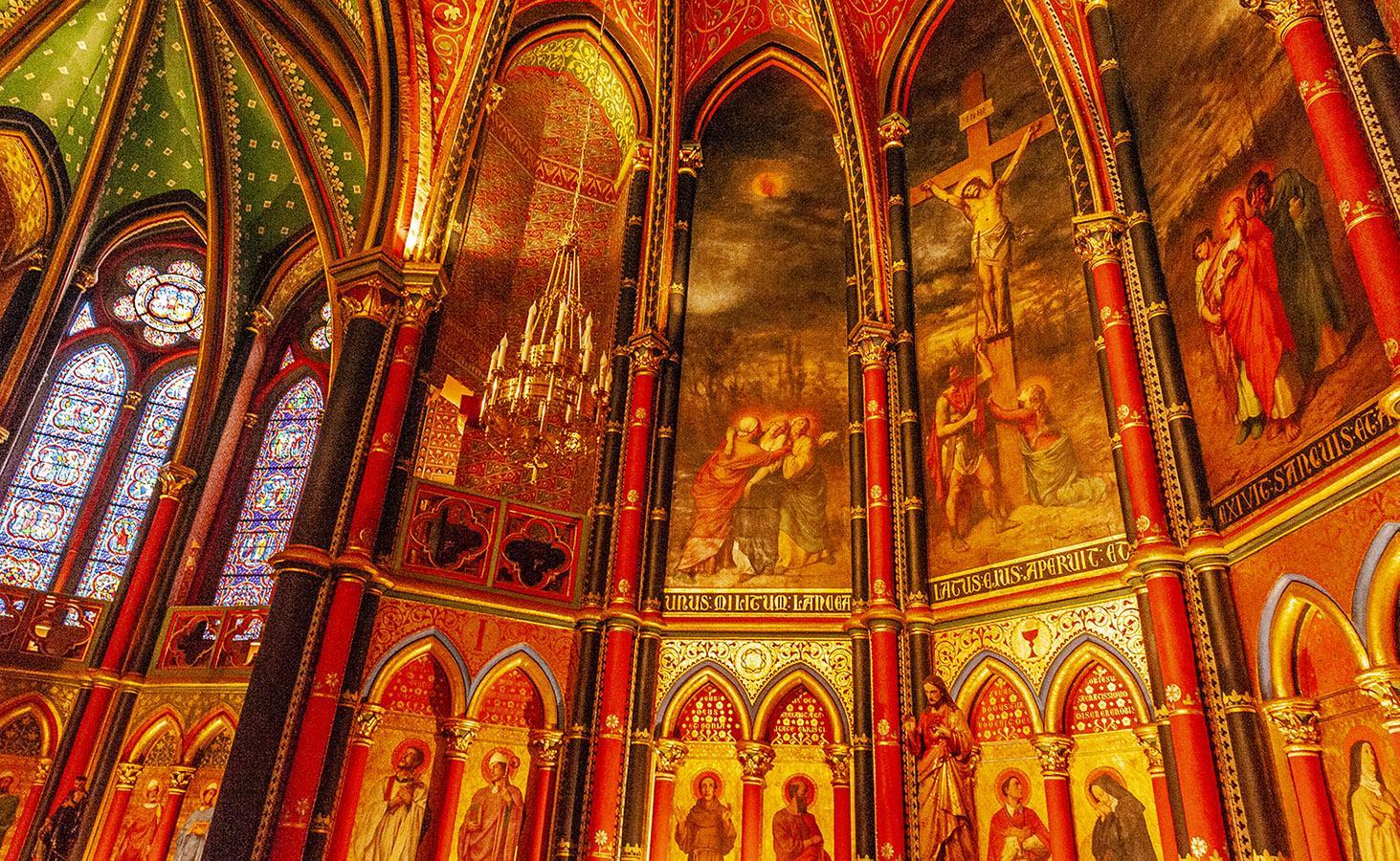 Der Chor der Kathedrale von Bayonne. Foto: Hilke Maunder