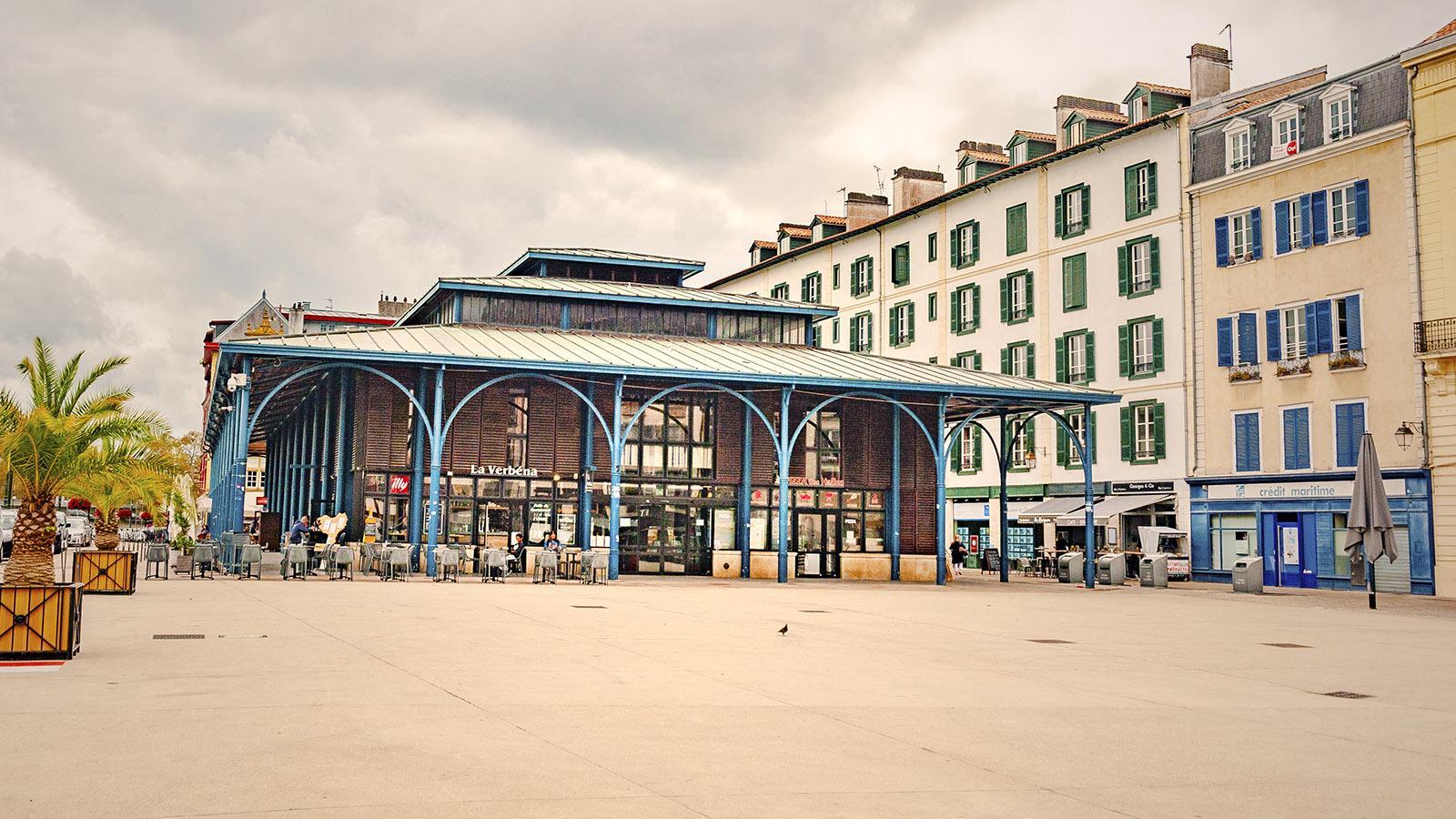 Die Markthalle von Bayonne. Foto: Hilke Maunder