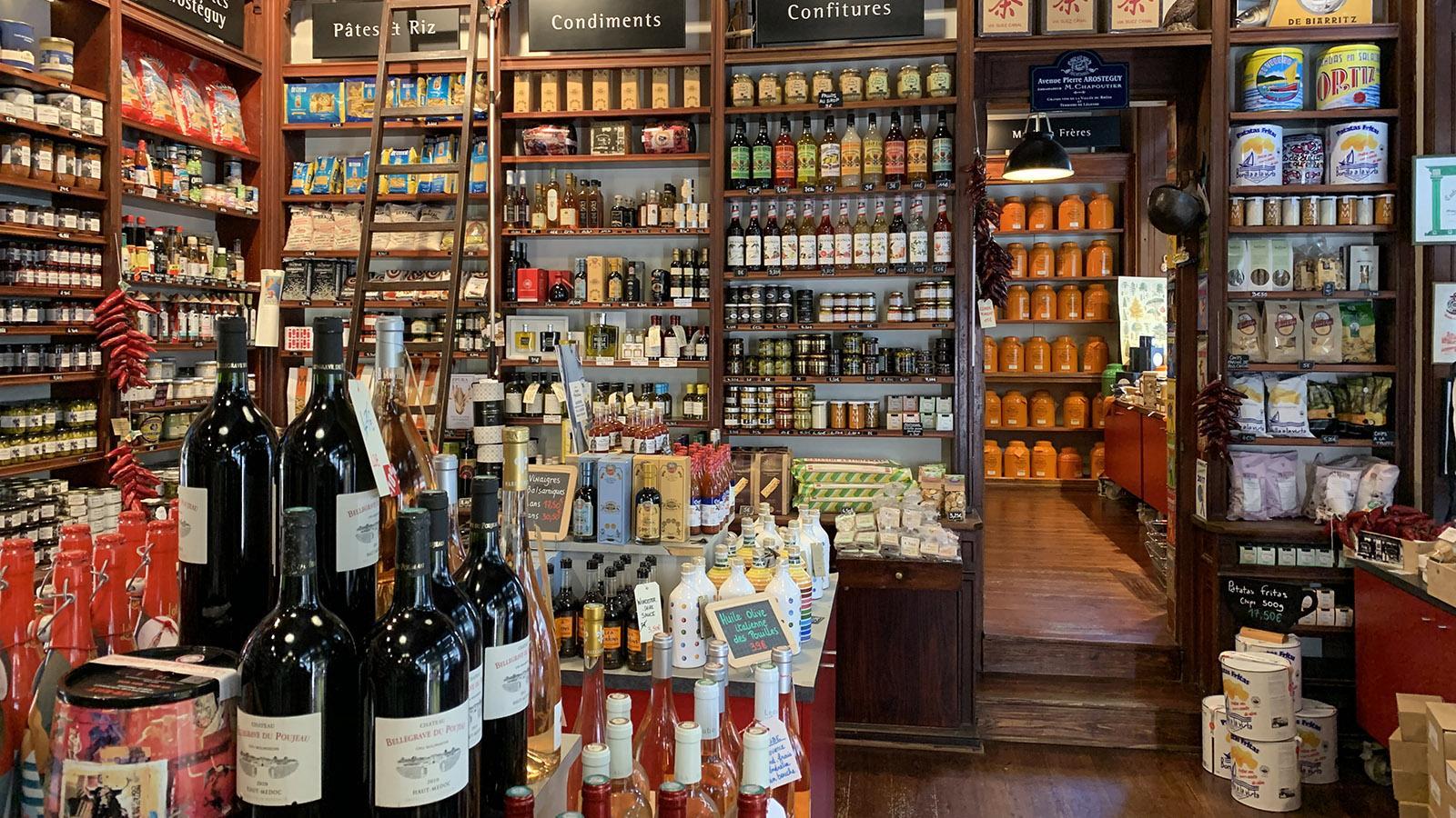 Die Épicerie Arostéguy in Biarritz. Foto: Hilke Maunder