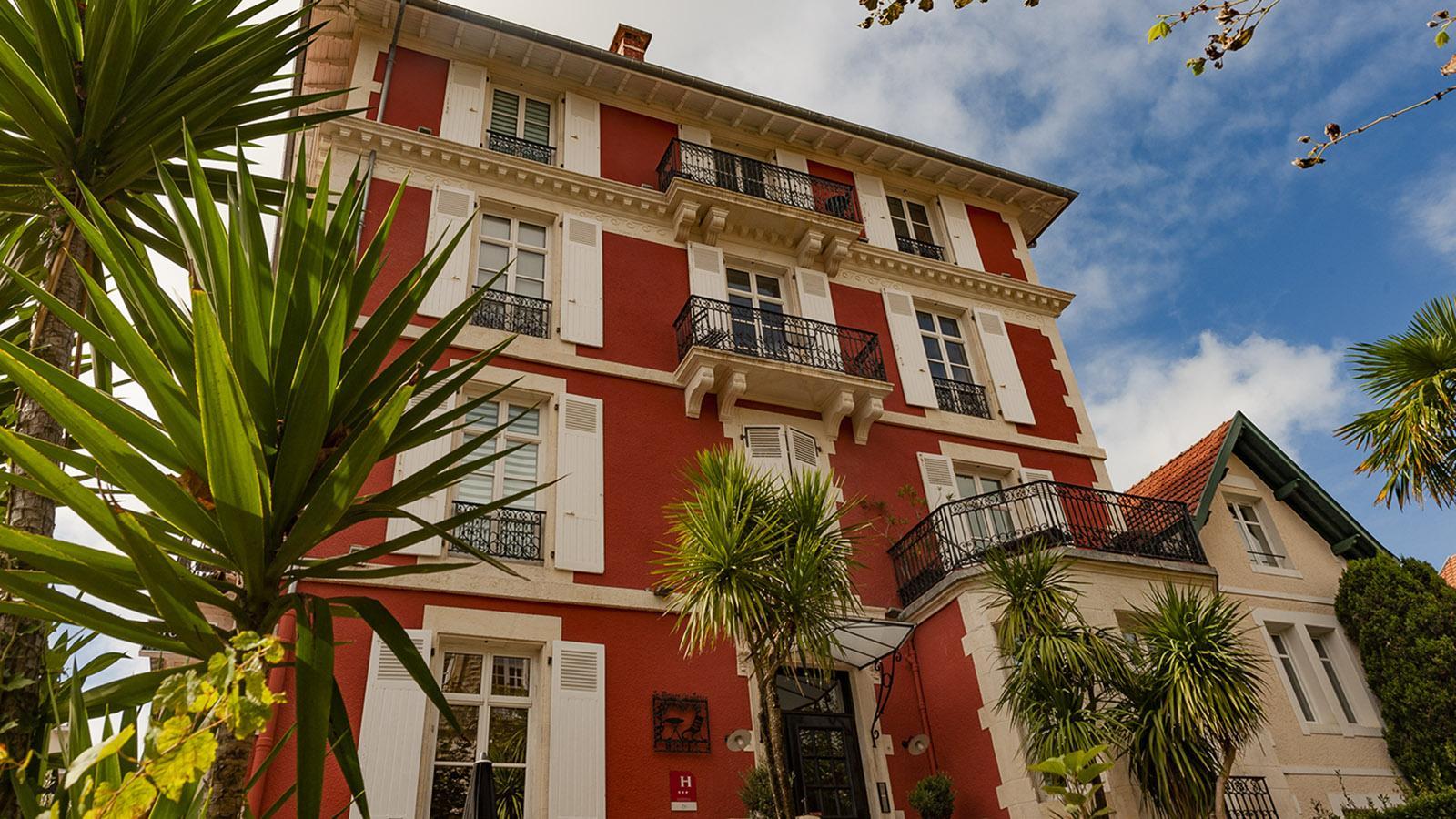Das Boutiquehotel Maison du Lierre von Biarritz. Foto: Hilke Maunder