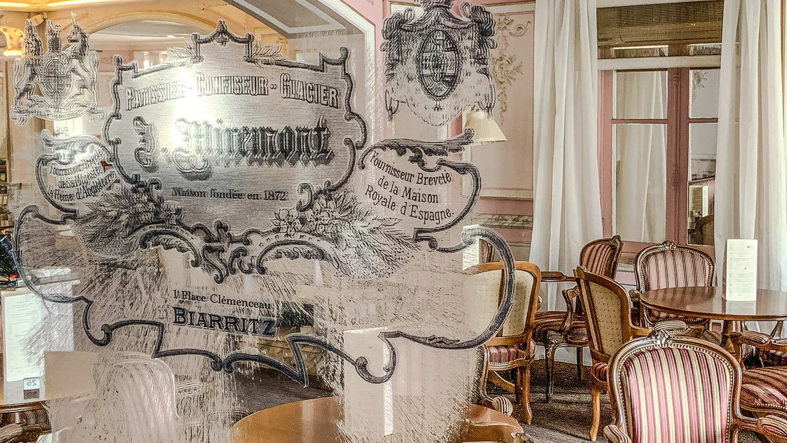 Crampottes. Biarritz: Café Miremont. Foto: Hilke Maunder