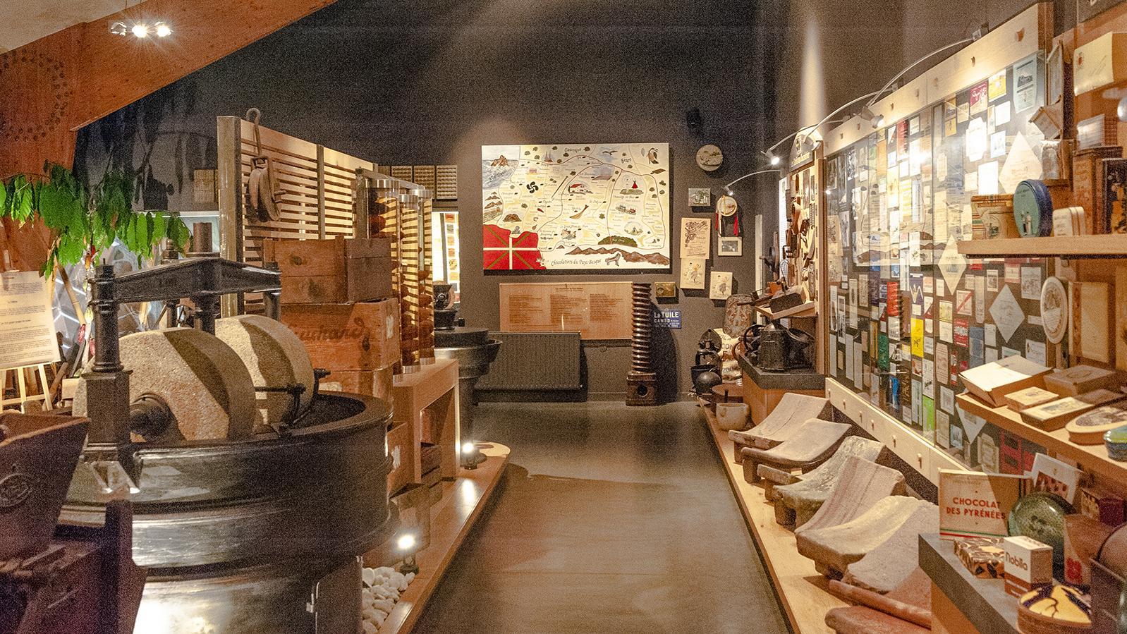 Das Schokoladen-Museum von Puyodebat in Cambo-les-Bains. Foto: Hilke Maunder