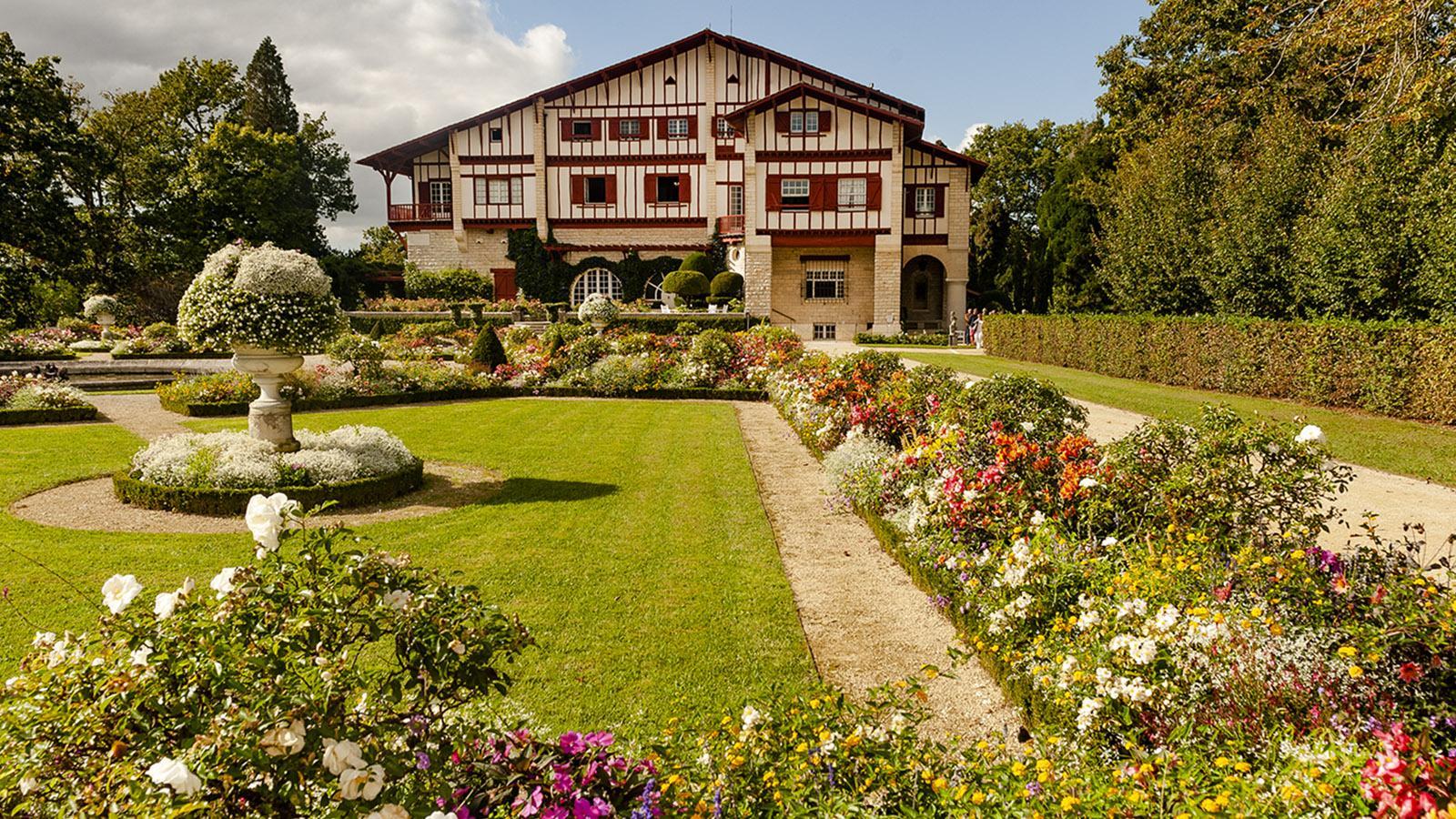 Villa Arnaga: der französische Garten. Foto: Hilke Maunder