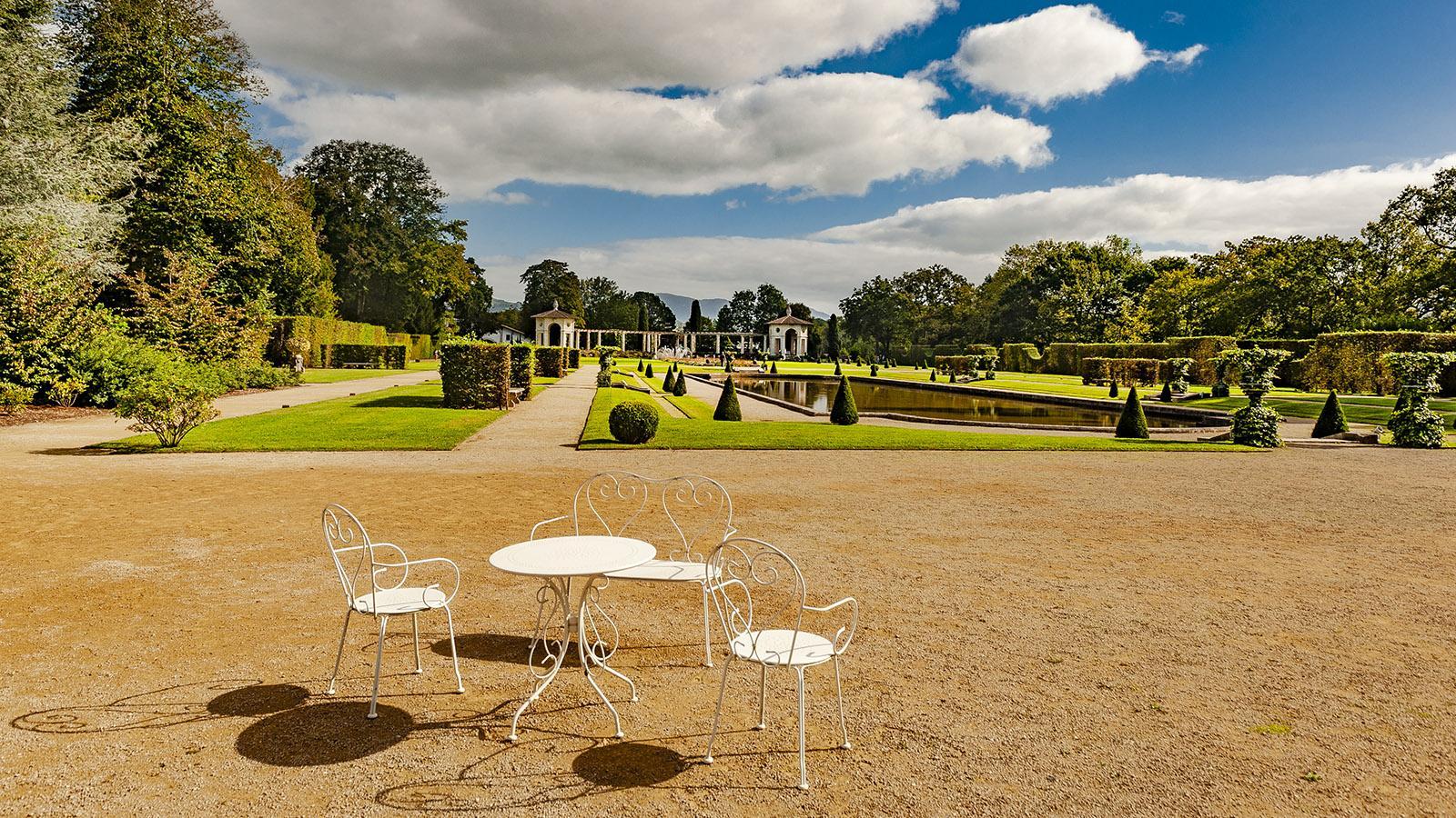 Villa Arnaga in Cambo-les-Bains. Der formelle Garten. Foto: Hilke Maunder