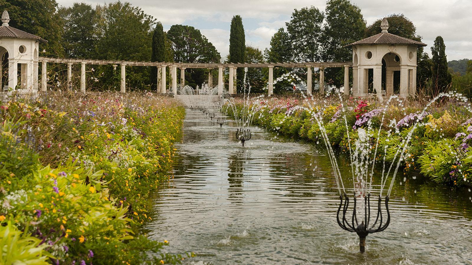 Villa Arnaga: im Garten. Foto: Hilek Maunder