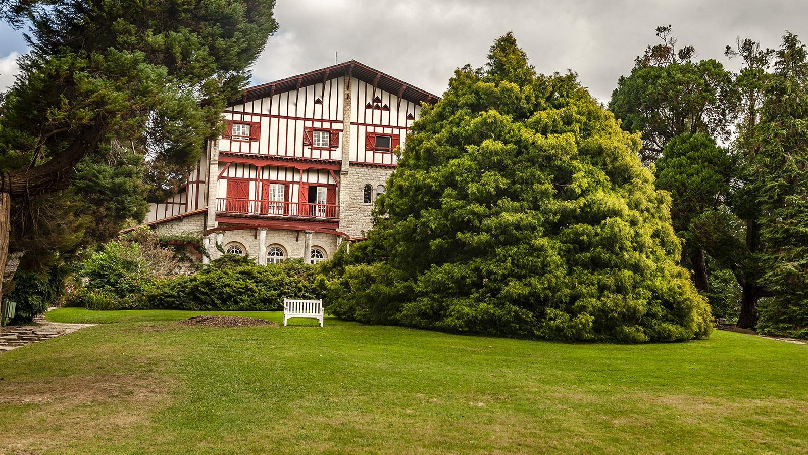 Villa Arnaga in VCambo-les-Bains. Foto: Hilke Maunder