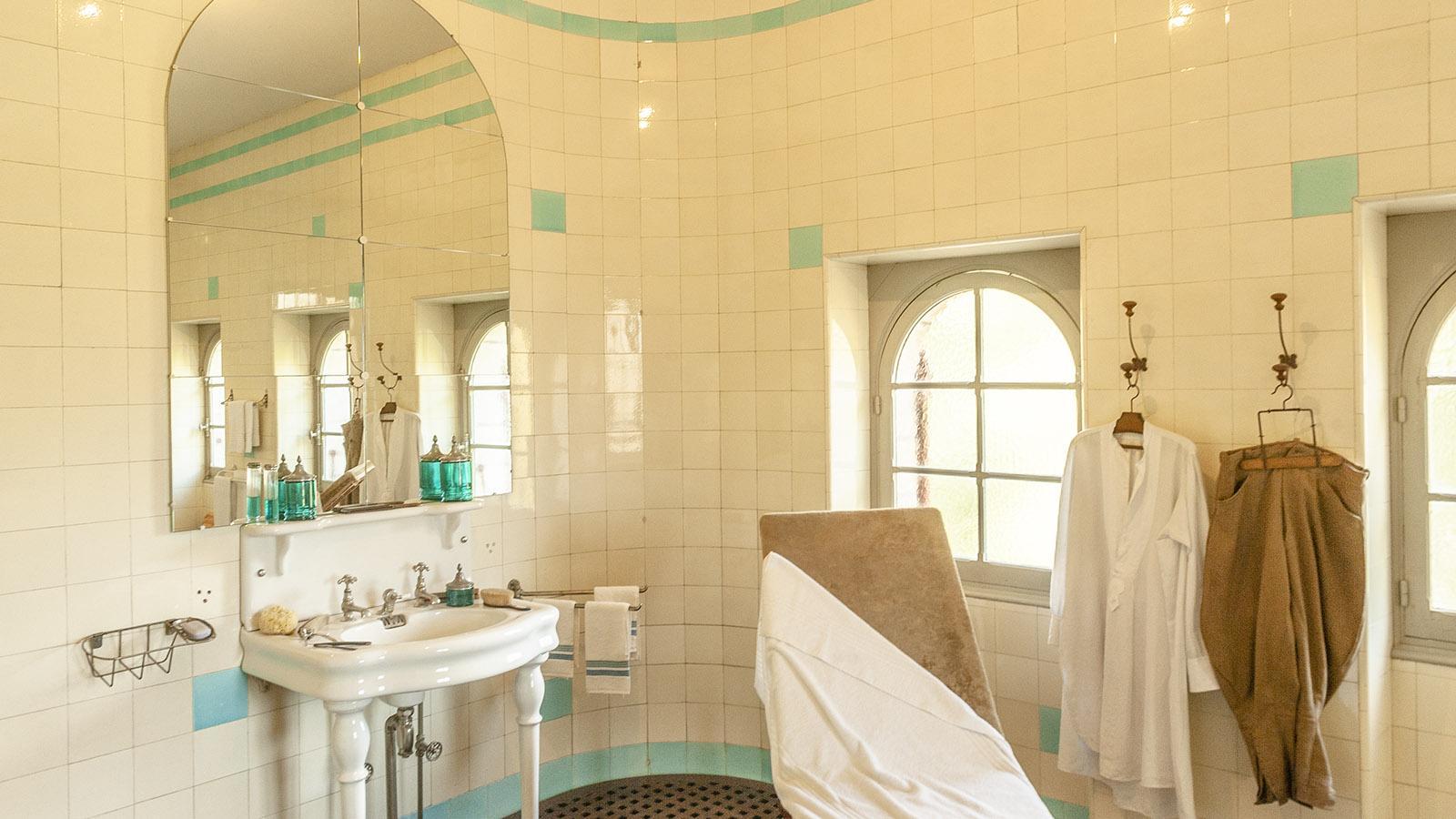 Villa Arnaga: das hauseigene Spa. Foto: Hilke Maunder