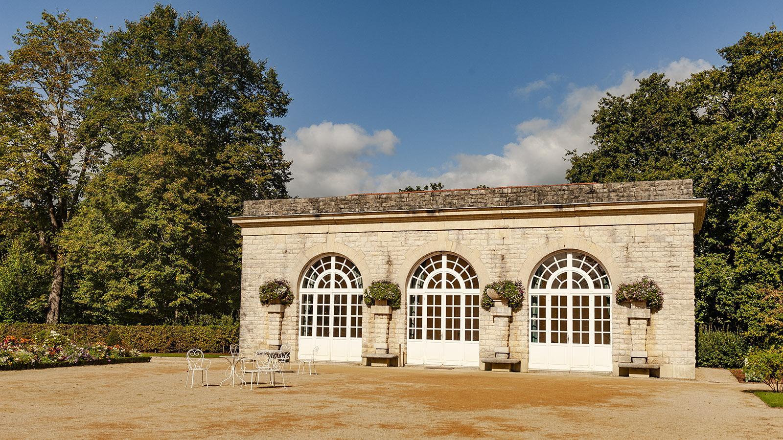 Villa Arnaga: Pavillon. Foto: Hilke Maunder