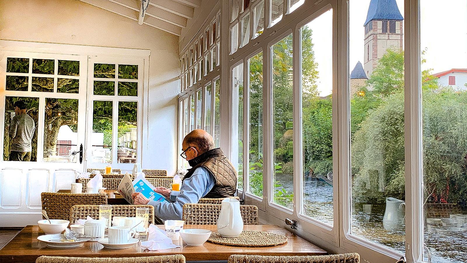Saint-Étienne-de-Baïgorry. Hotel Arcé. Foto: Hilke Maunder