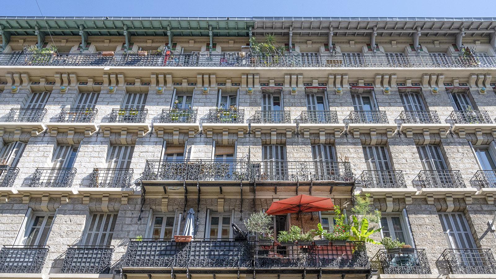 Eindrucksvoll: die Architektur von Nizza.