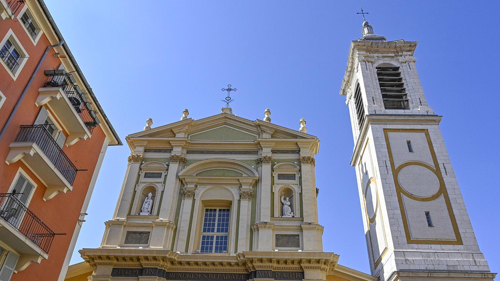 Die Kathedrale von Nizza. Foto: Hilke Maunder
