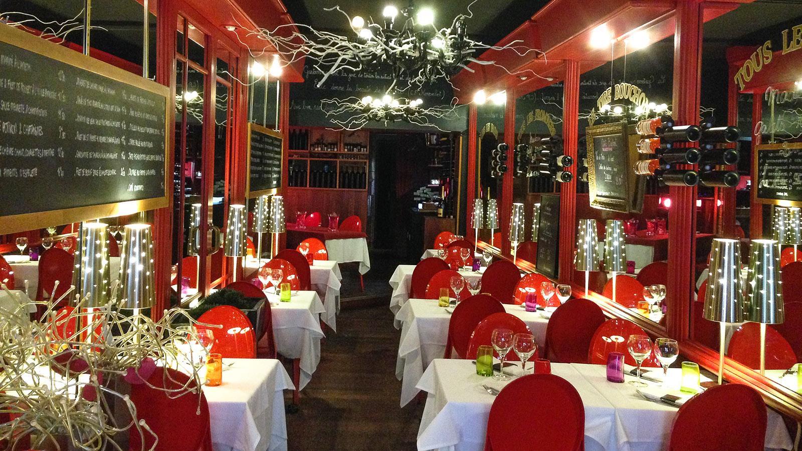 Nizza: Restaurant Le Tire-Bouchon: Foto. Hilke Maunder