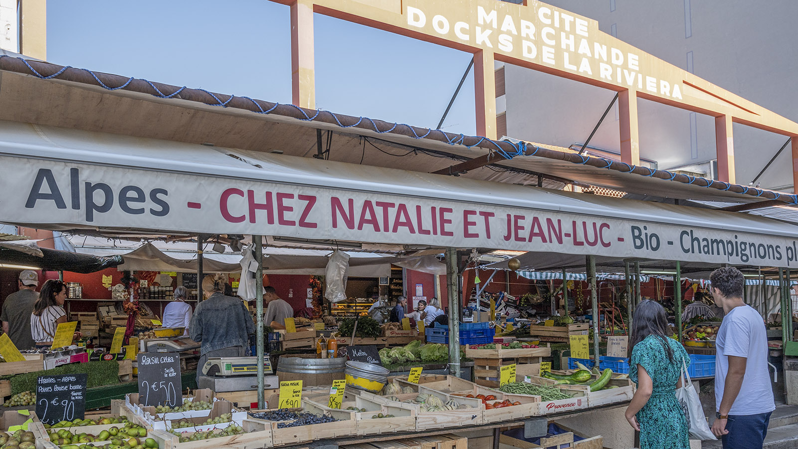 Der Marche des Docks de la Riviera. Foto: Hilke Maunder