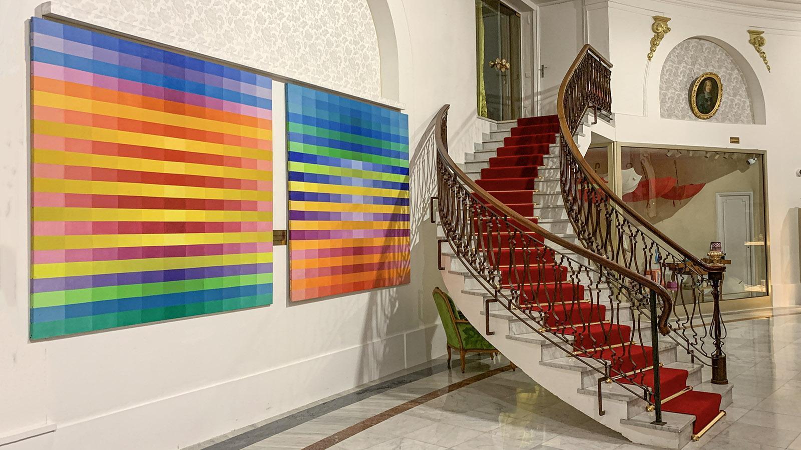 Alt und neu im Hôtel Negresco. Foto: Hilke Maunder