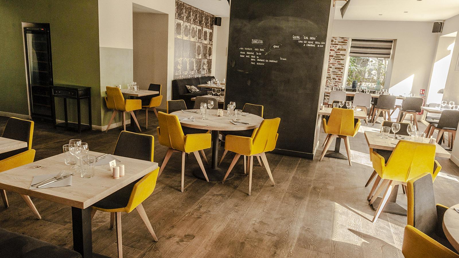 Pau: Restaurant Poule à 3 Pattes. Foto: Hilke Maunder