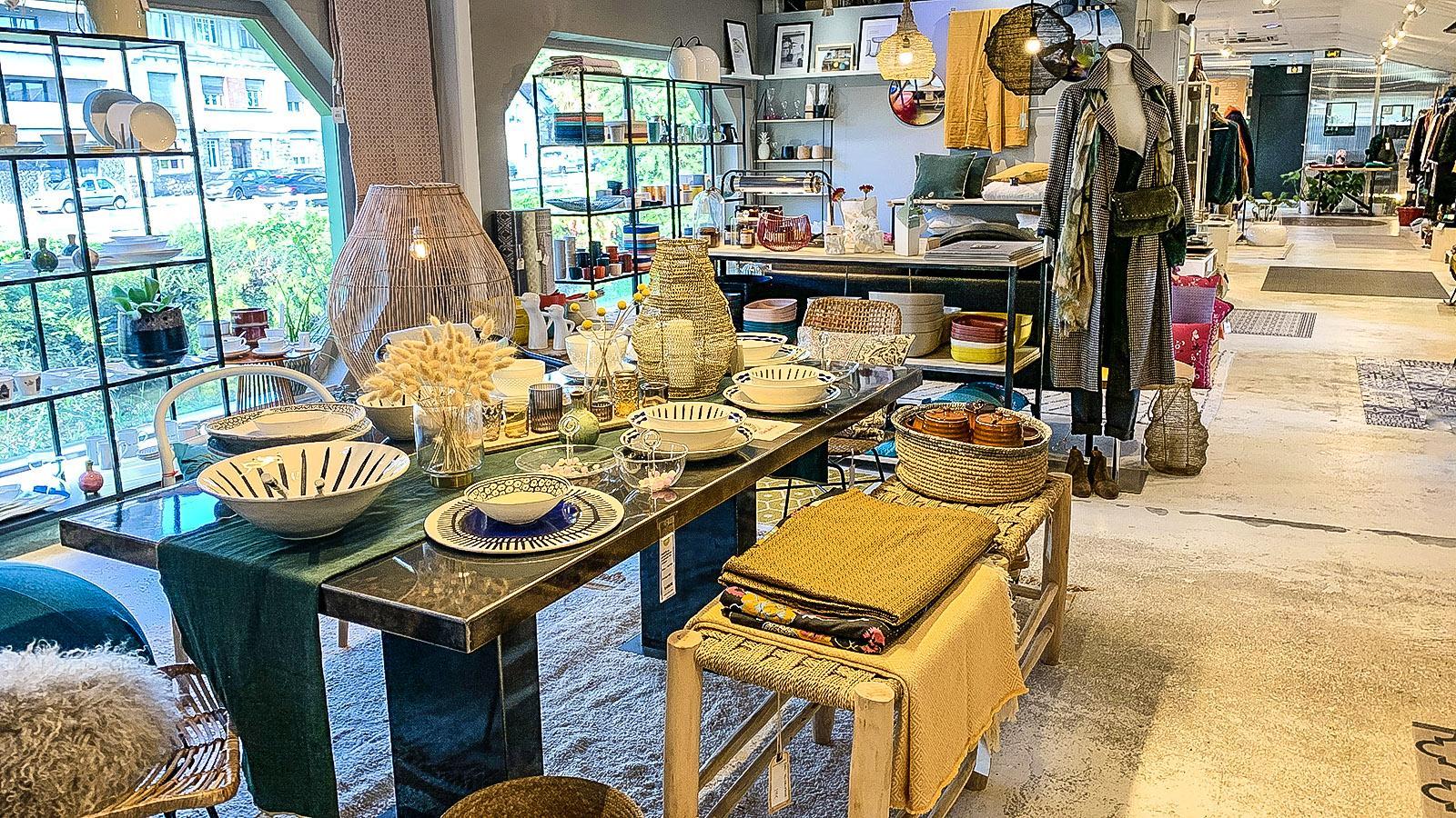 Die Boutique von Cozyn in Pau. Foto: Hilke Maunder