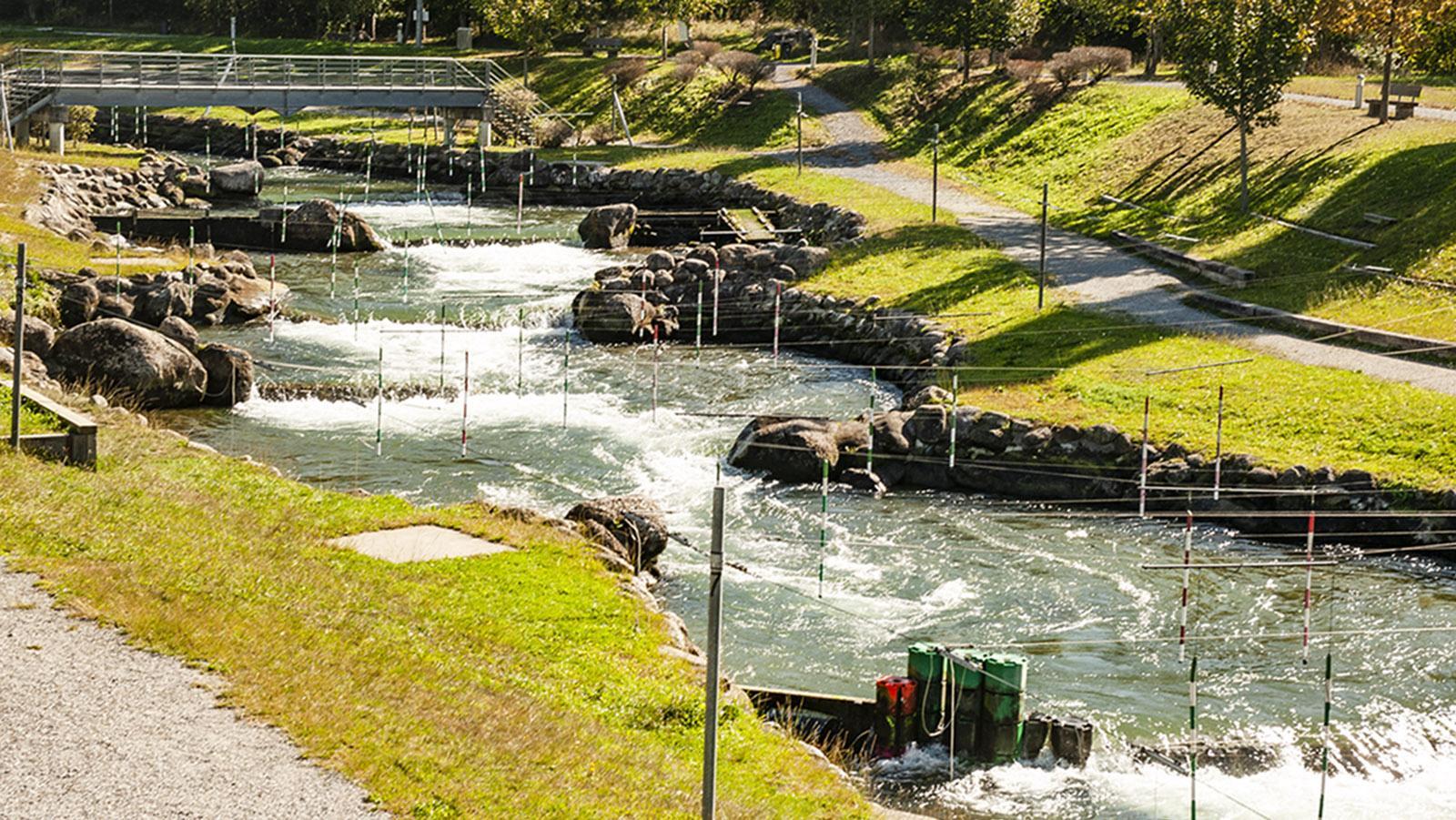 Pau: Wildwasserzentrum Stade d'Eaux Vives. Foto: Hilke Maunder