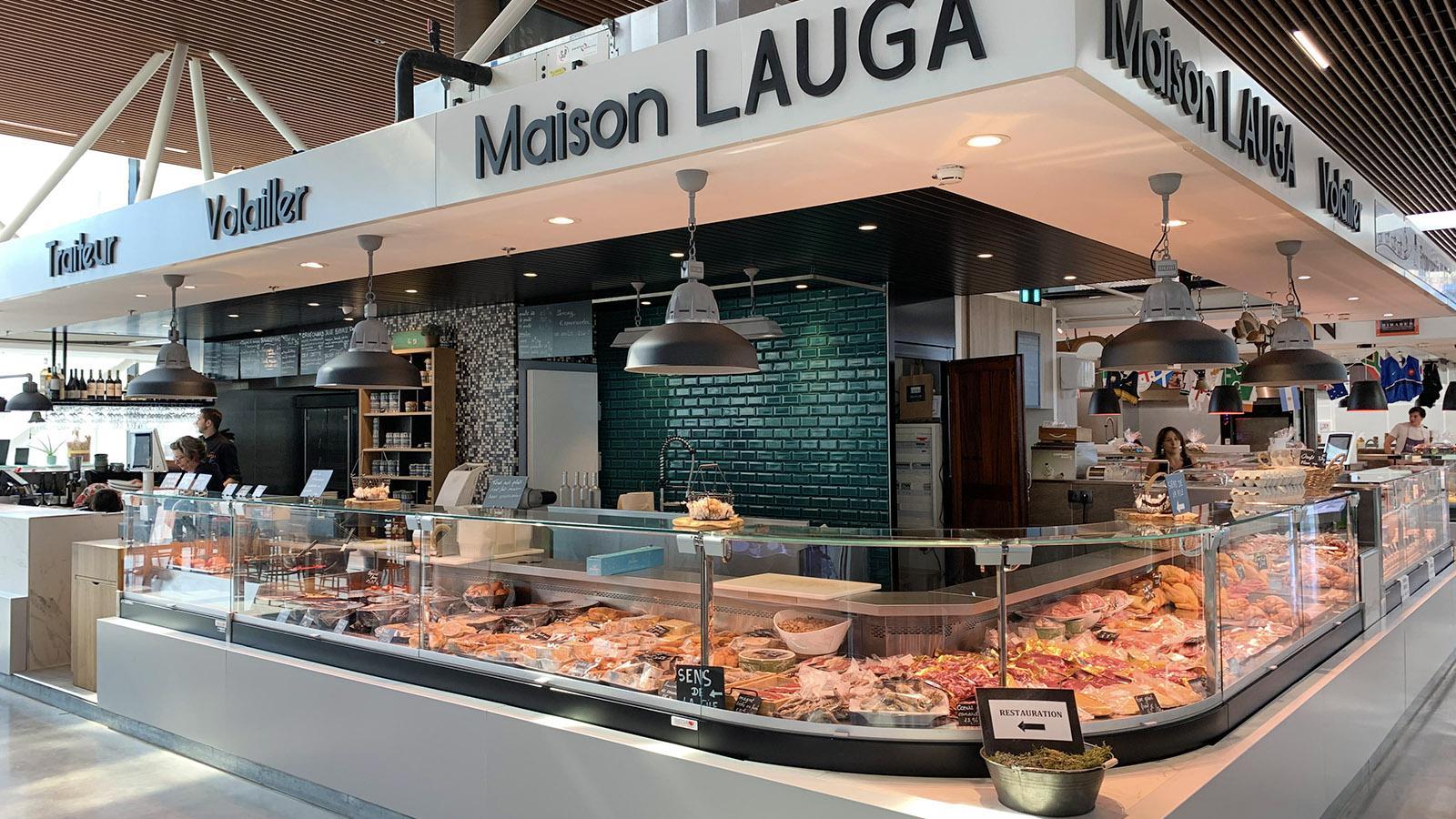 Pau: Maison Lauga in der Markthalle. Foto: Hilke Maunder