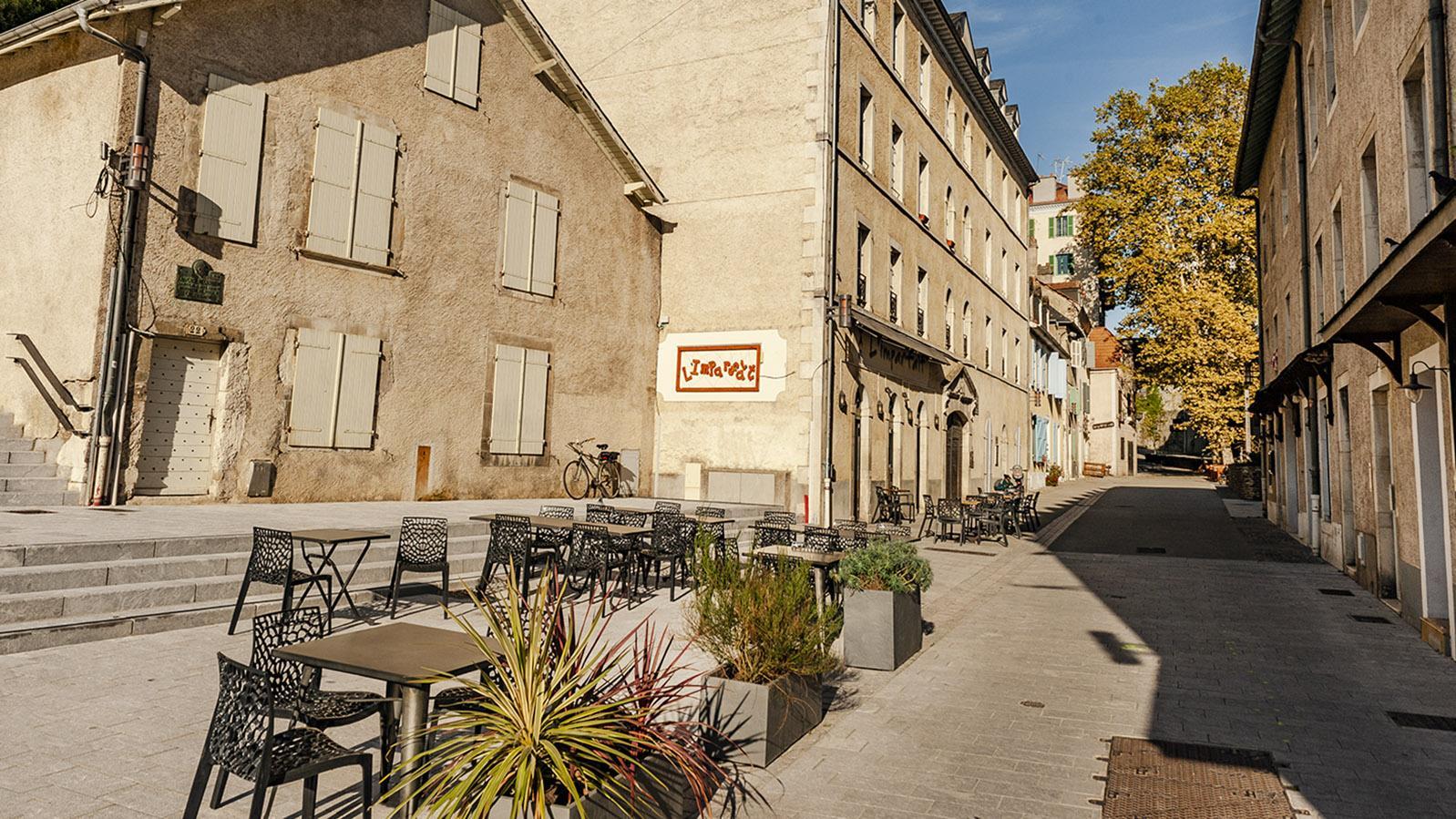 Im Hédas von Pau: die Bar L'Imparfait. Foto: Hilke Maunder