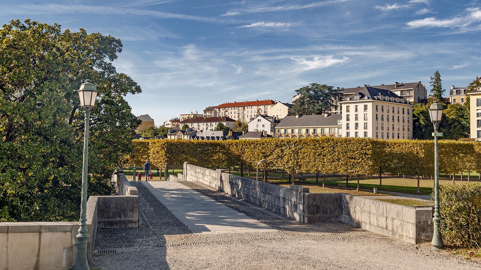 Pau: der Schlossgarten. Foto: Hilke Maunder