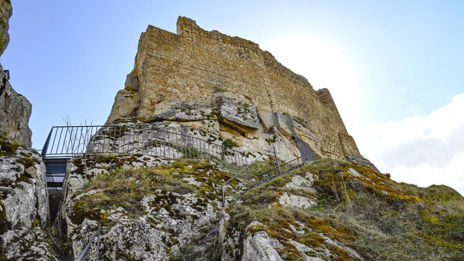 Die Burg von Queribus. Foto: Hilke Maunder