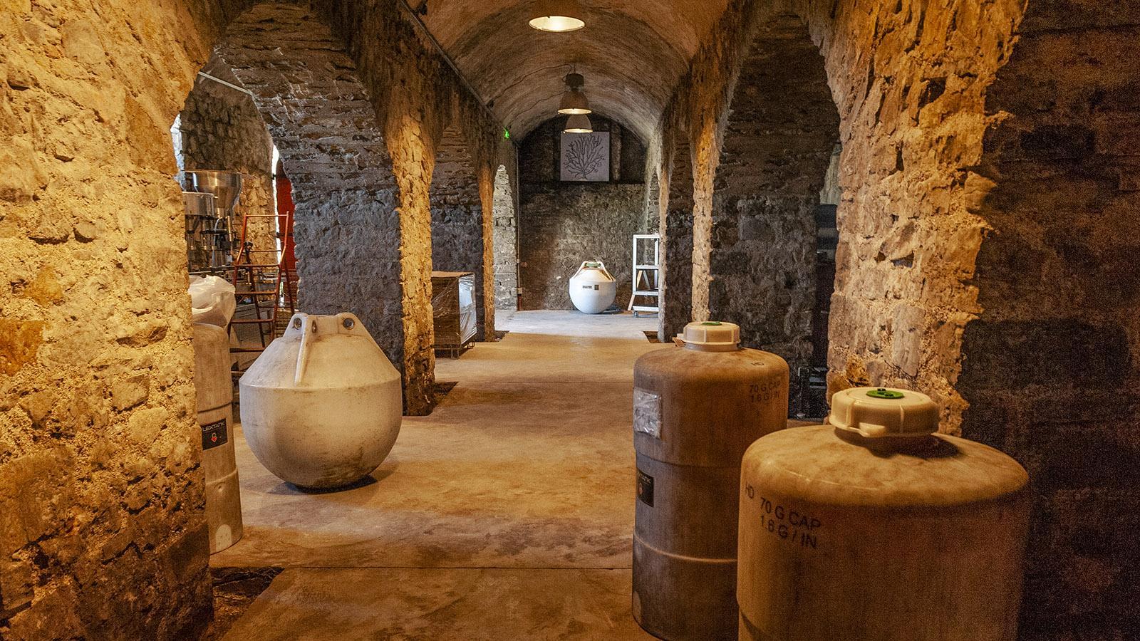 Saint-Jean-de-Luz: der Weinkeller von Egiatea in Ziboure. Foto: Hilke Maunder