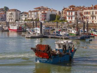 Saint-Jean-de-Luz. Der Hafen. Foto: Hilke Maunder