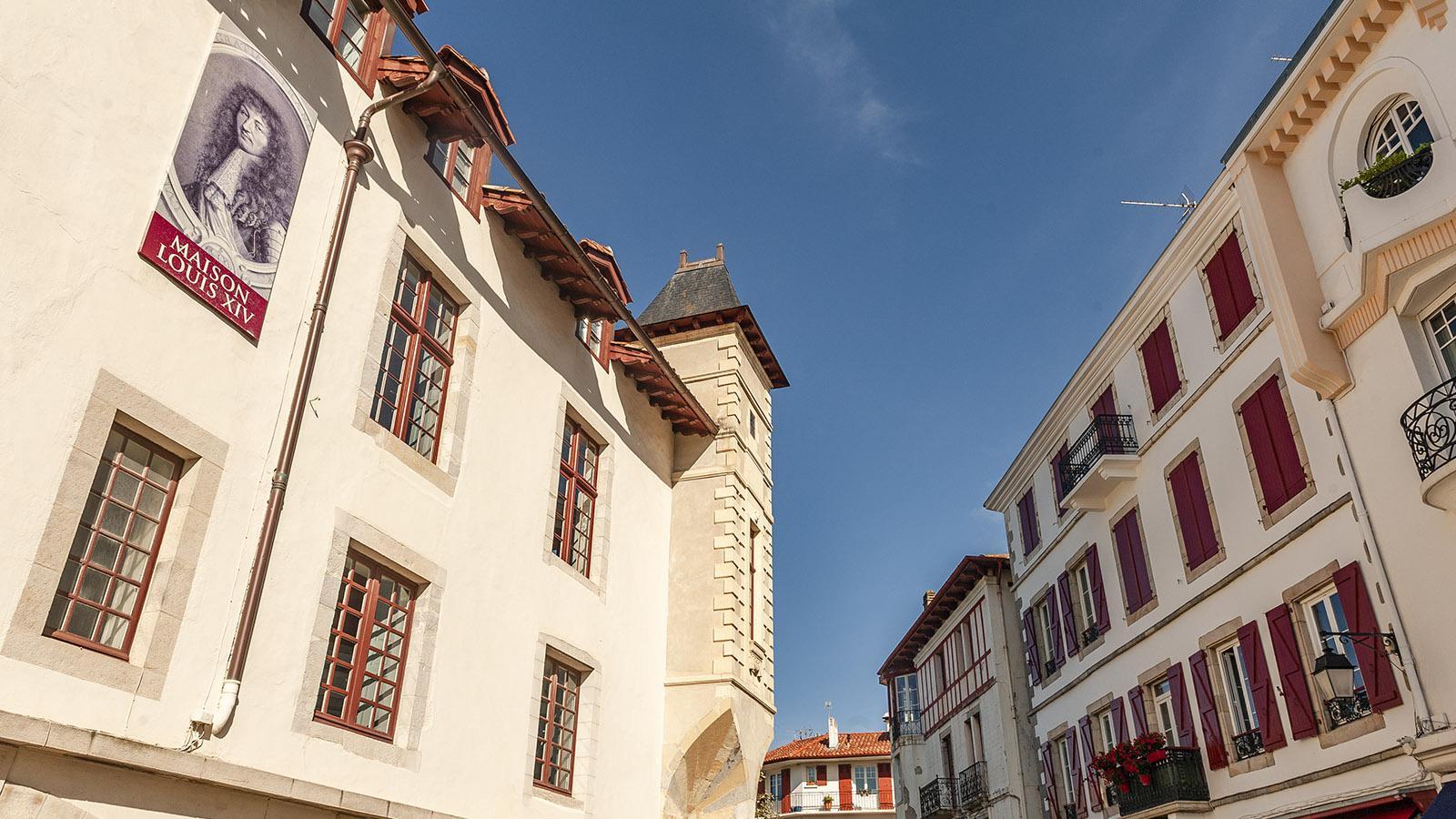 Saint-Jean-de-Luz: die Maison Louis XIV.