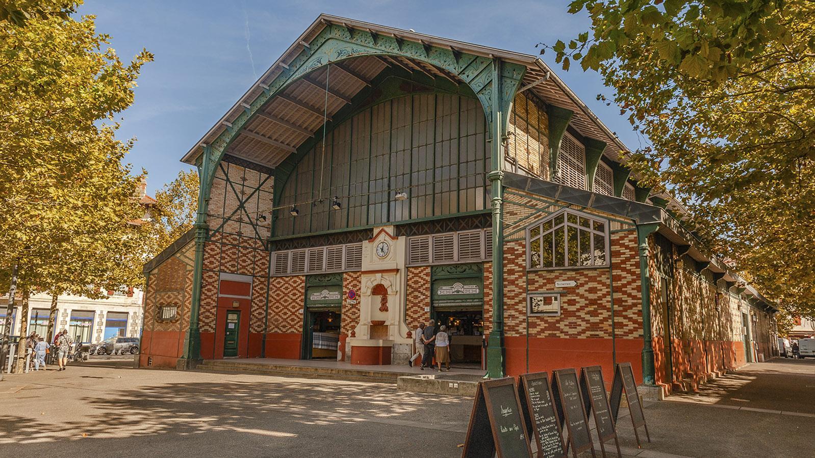 Die Markthalle von Saint-Jean-de-Luz. Foto: Hilke Maunder