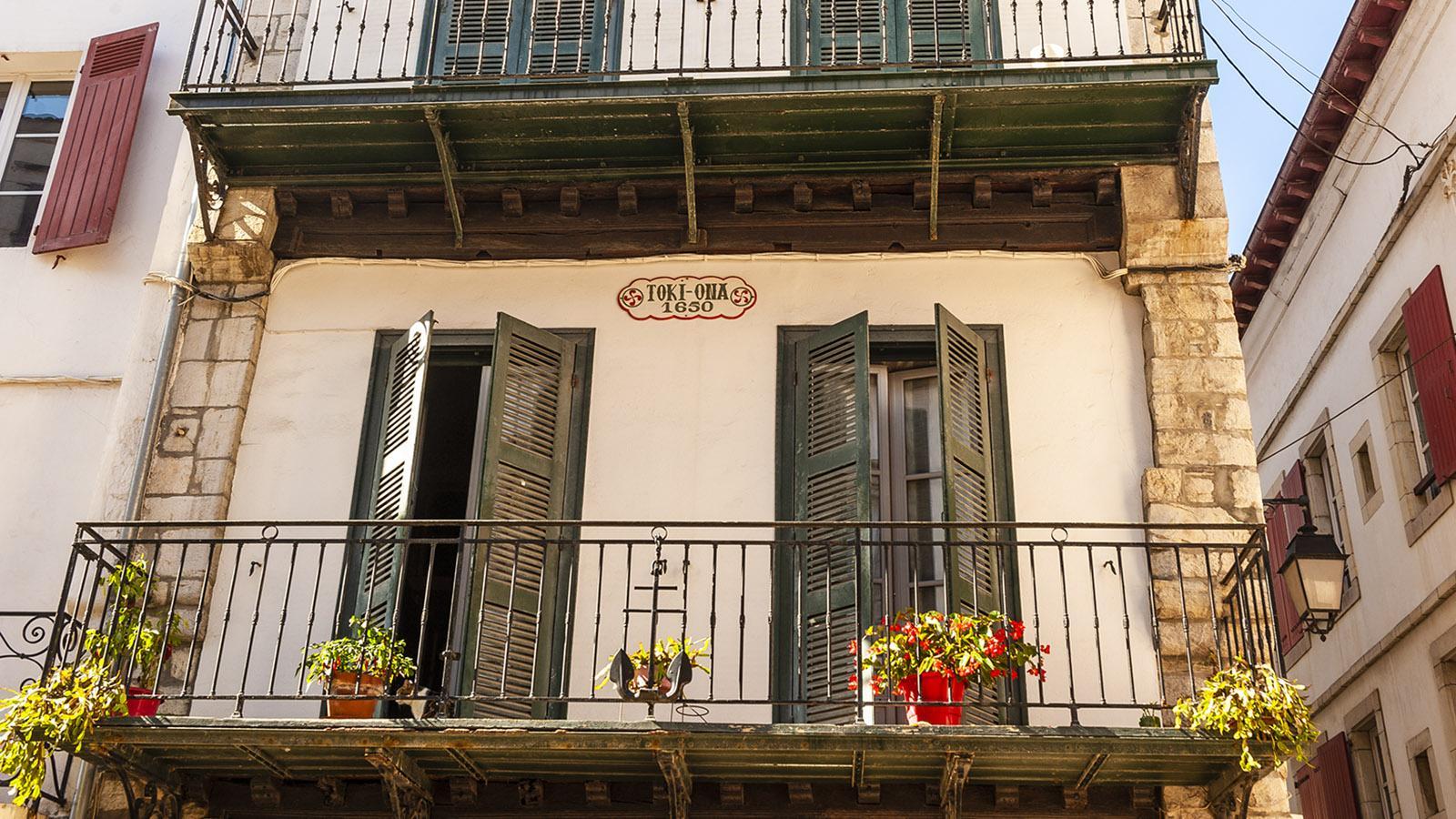 Saint-Jean-de-Luz: in der Altstadt. Foto: Hilke Maunder
