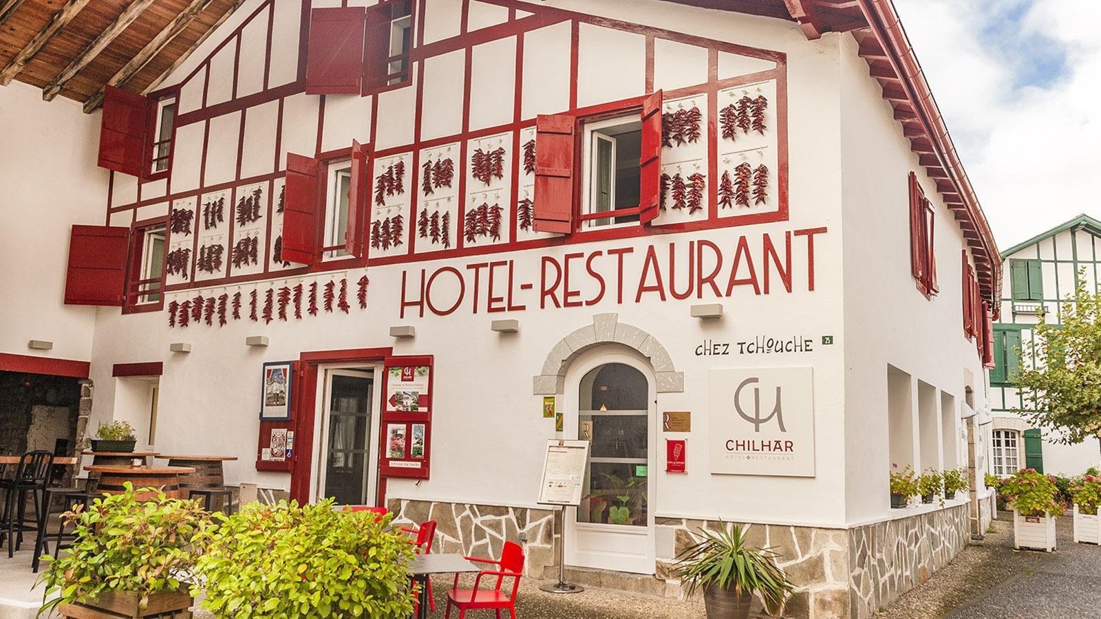 Hôtel Le Chilhar in Espelette. Foto: Hilke Maunder