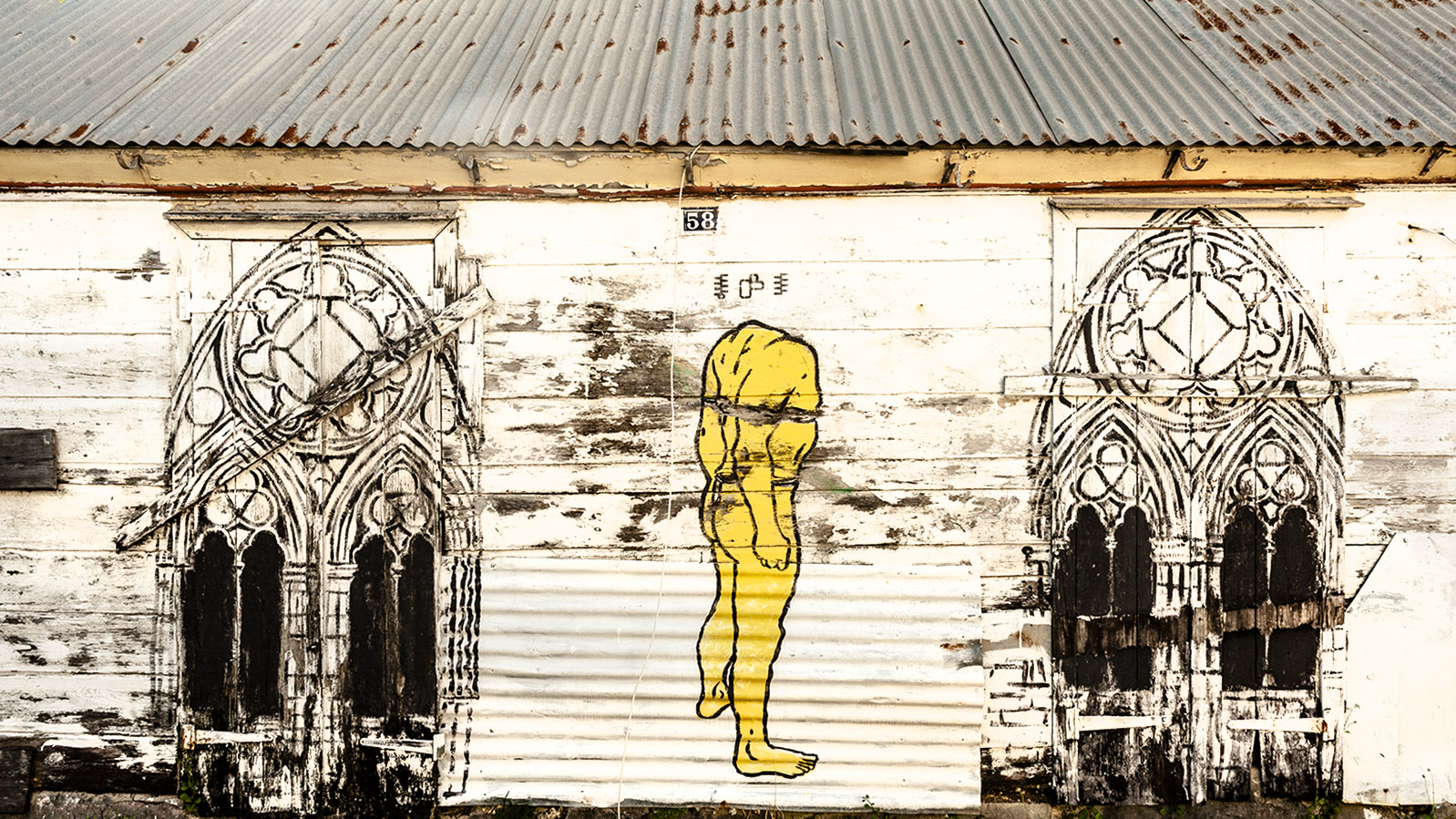 Guadeloupe: Street Art von François Piquet - gespottet in Port-Louis. Foto: Hilke Maunder