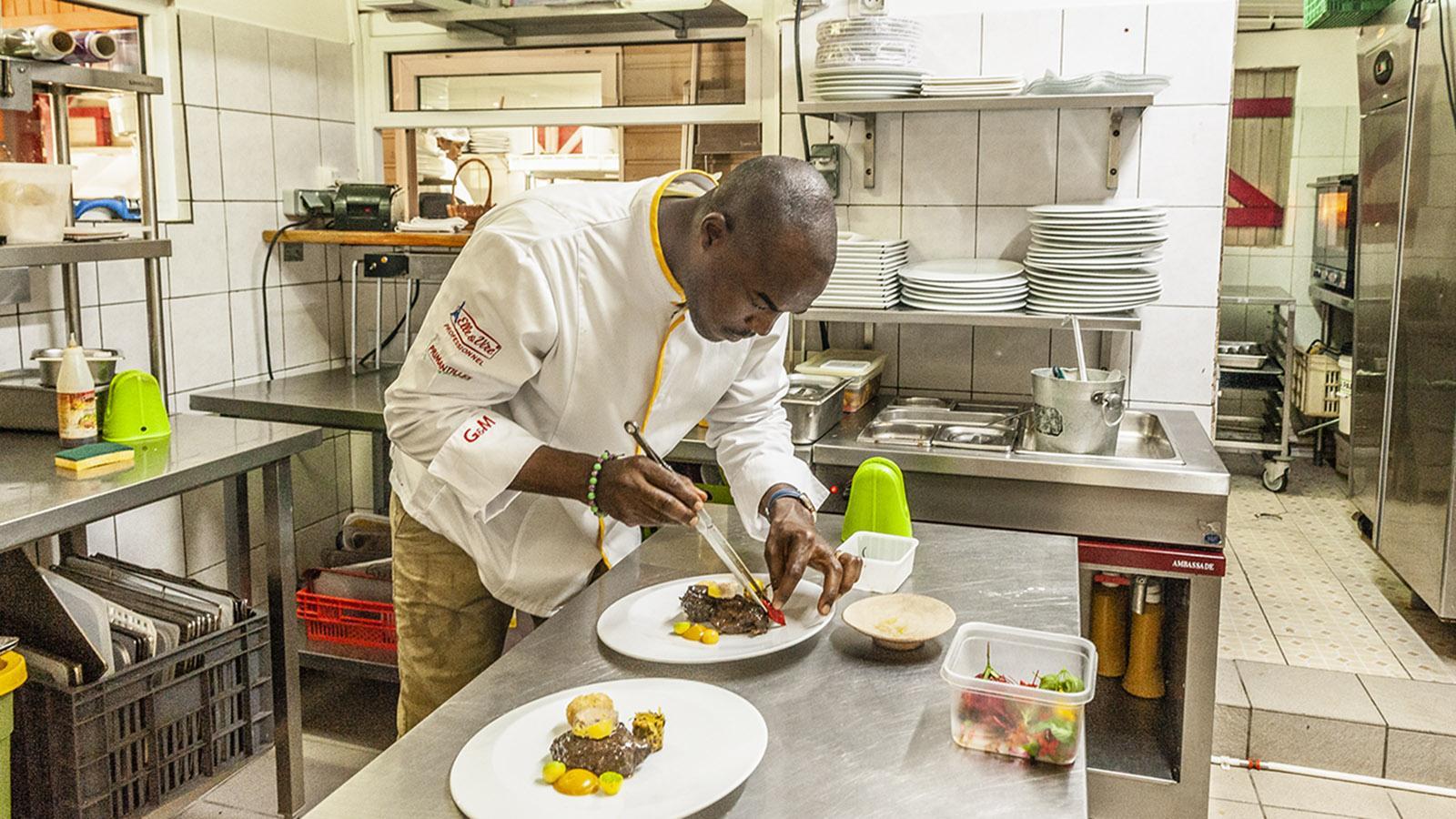 Guadeloupe: für Gault et Millau der Koch des Jahres 2020. Foto: Hilke Maunder
