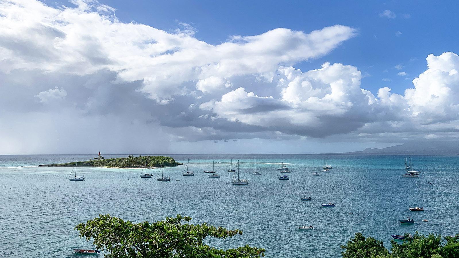 Guadeloupe: das Meer bei Le Gosier. Foto: Hilke Maunder