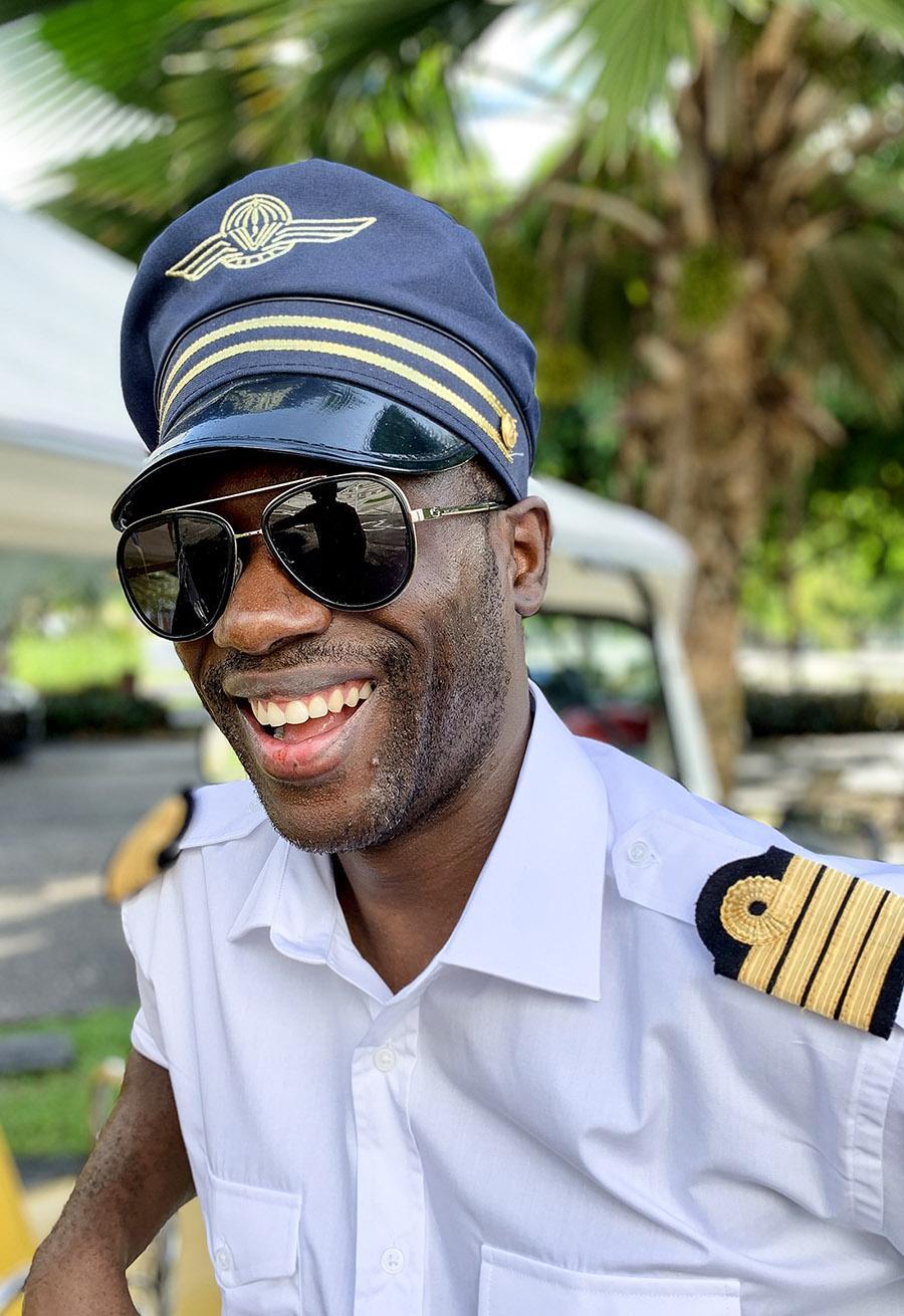 Guadeloupe: Enoch Baptiste. Foto: Hilke Maunder