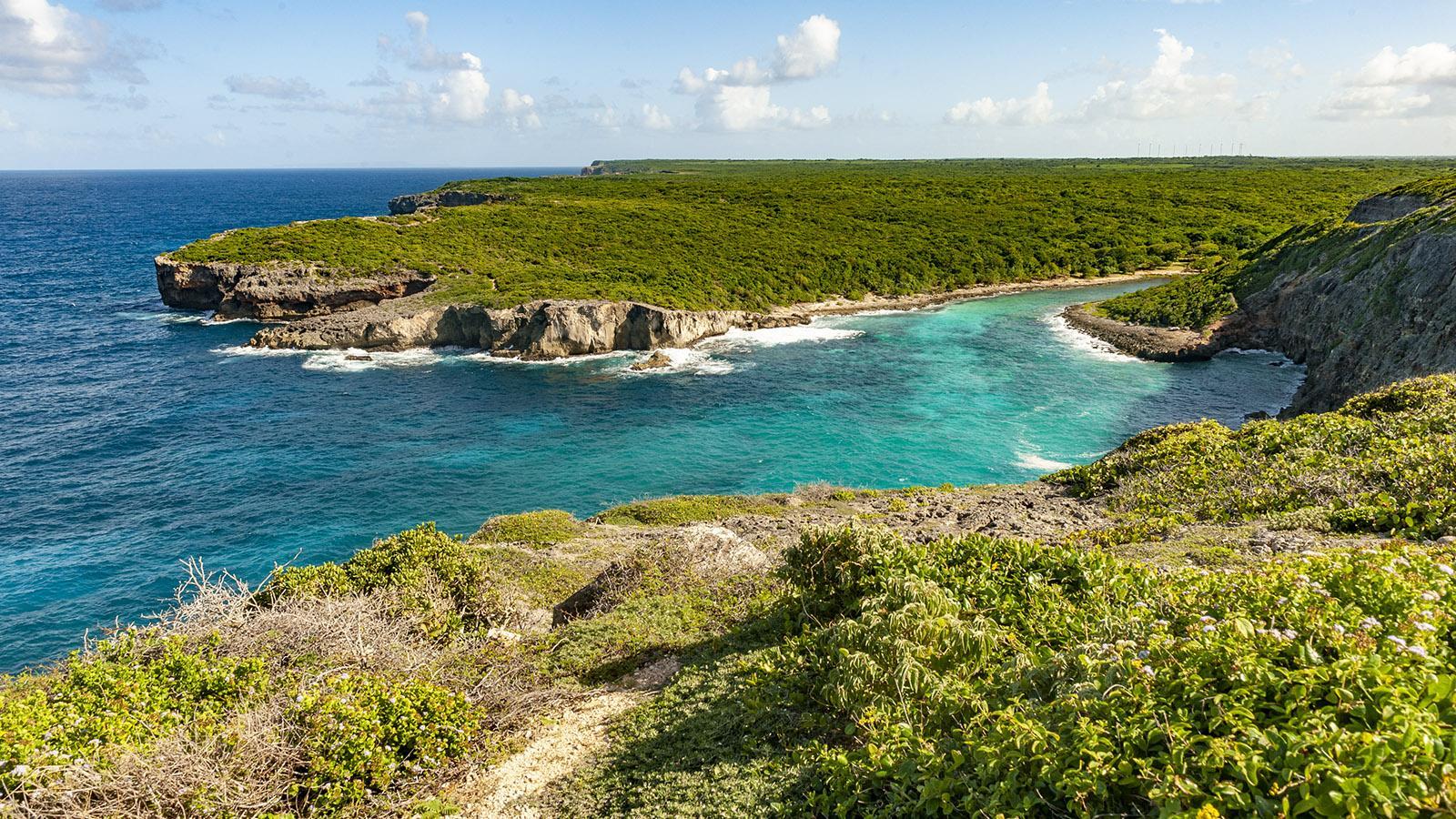Guadeloupe: das Höllentor von Grande-Terre. Foto: Hilke Maunder