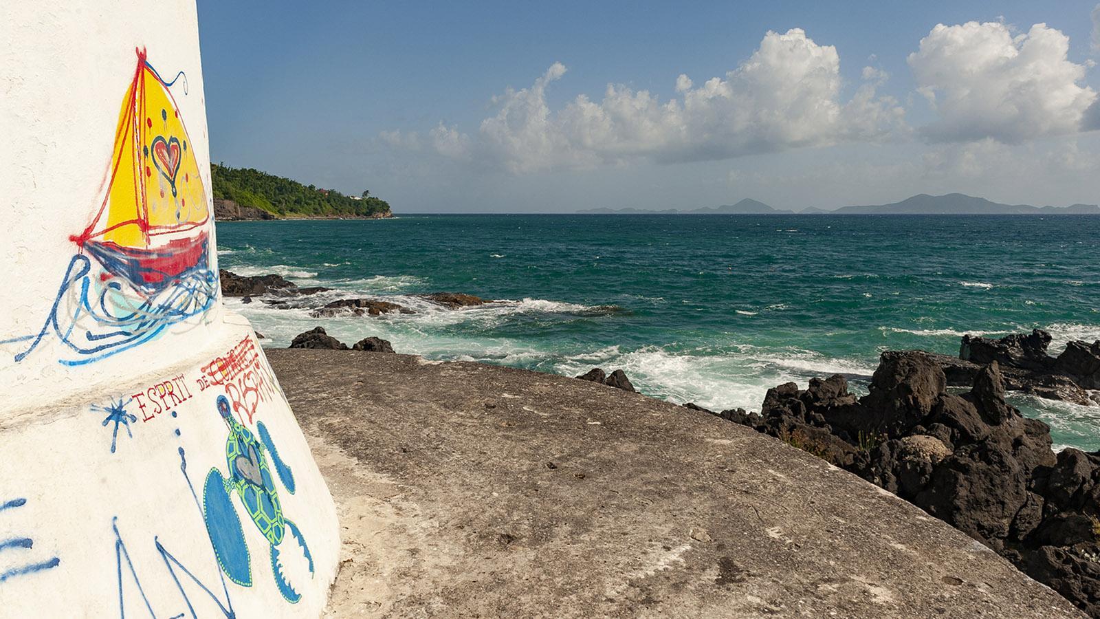 Guadeloupe: der Leuchtturm von Vieux-Fort. Foto: Hilke Maunder